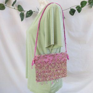 **Unbranded** Sparkly Beaded Evening Bag EUC